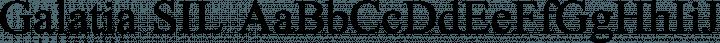 Galatia SIL font family by SIL International