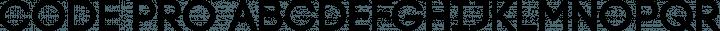 Code Pro Regular free font