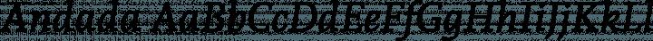 Andada font family by Huerta Tipográfica