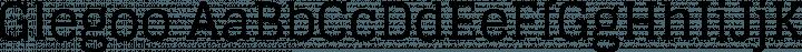 Glegoo font family by Eduardo Tunni