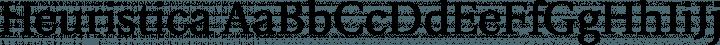 Heuristica font family by Andrej Panov