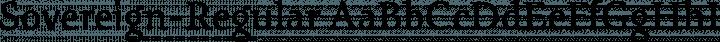Sovereign-Regular Regular free font