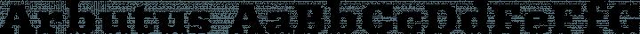 Arbutus font family by Karolina Lach