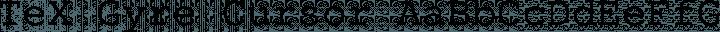TeX Gyre Cursor Regular free font